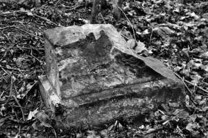 Kamień (2). dawny cmentarz żydowski wRaciborzu (2015)