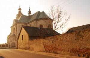 Kościół wKrzanowicach (marzec, 2015)