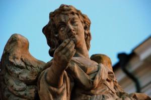 Anioł (Fulnek; wzgórze kościelne)