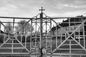 Brama (dawny cmentarz ewangelicki, Racibórz)
