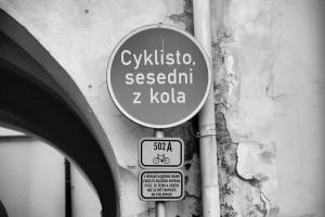 Cyclist!!! / Cyklisto!!!