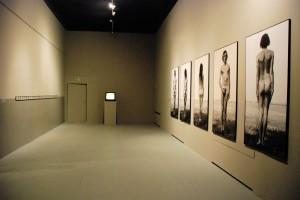Fragment aranżacji wystawy, CSW, 2015