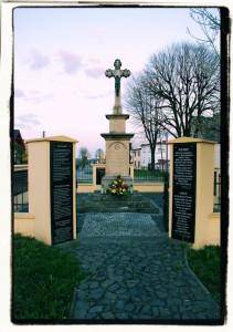 Pomnik (Bieńkowice, 2015)