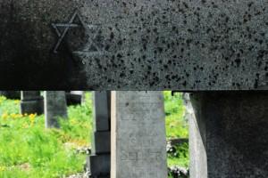 Znak (cmentarz żydowski w Karnowie/Krnovie)