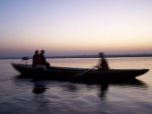 Zjawy (1) / Ghosts (Varanasi, Ganges River)