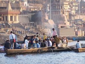 Turysci / Tourists (Varanasi, India)