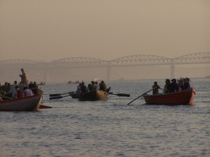 Na rzece / On the river (Varanasi, India)