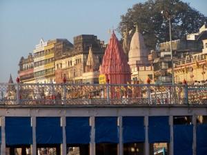 Niebieski most / Blue bridge (Varanasi, India)