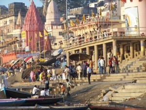 Ruch nag(h)atach / Movement on the ghats (Varanasi, India)