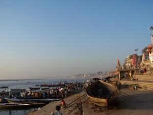 Na brzegu / On the river bank (Varanasi, India)