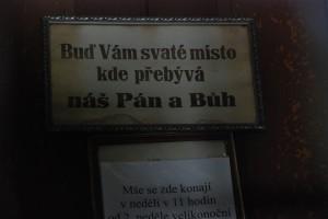 """""""Pan a Buh"""" [ Opawa, kościół św. Jana Chrzciciela]"""