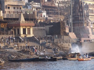Kremacja / Cremation  (Varanasi, India)