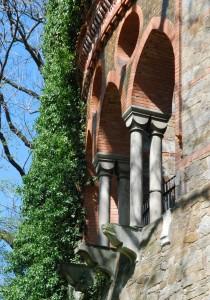 Detal (Pałac wKamieńcu Ząbkowickim, 2015)