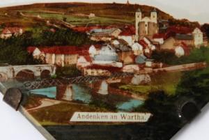 Pamiątka zBardo (Wartha) (fragment fotografii naszkle) (pocz. XX wieku)