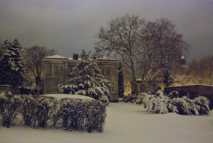 Zimowa Opawa [Pałac Razumowskich - siedziba dyrekcji Śląskiego Muzeum Ziemskiego, zima 2015]