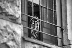 Wiersze tomalowane witraże... / Gedichte sind gemalte Fensterscheiben (J.W. Goethe) (Schloss Brynnek/ Pałac wBrynku)