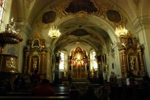 Wnętrze bazyliki św.Anny, Góra św.Anny (2013)