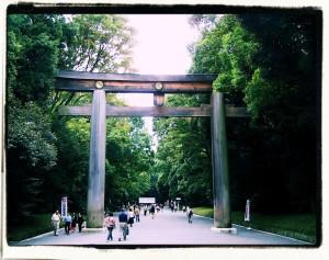 Torii (Park Meiji, Tokio)