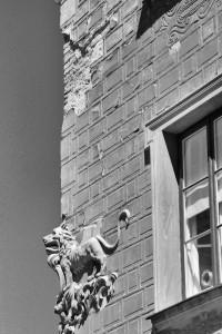 Lew został (Warszawa, Stare  Miasto)