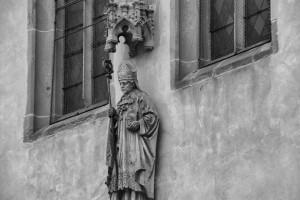 św. Idzi wamerykanskim planie (Bardejów, Słowacja)