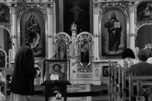 Modlitwa (cerkiew, Bardejów, 2015)