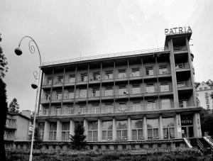 Fasada pensjonatu PATRIA (stan 2015r.)
