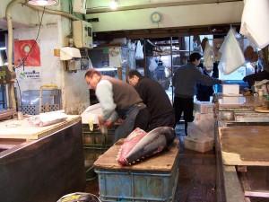 Giełda itarg rybny wTokio (1)