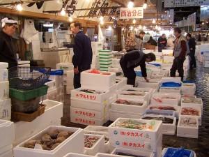 Małże, ośmiornice, ryby... giełda wTokio (2007)