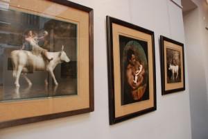 Fragment wystawy Jan Saudek (Galeria Winda)