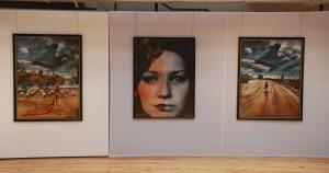 Jan Saudek. Fragment wystawy (Galeria Winda, Kielce)