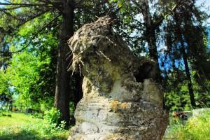 Łemkowski Christus (Tylicz, grób Bożenki)