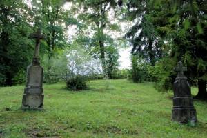 Dawny cmentarz wWojkowej