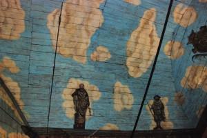 Niebo nadKieżmarkiem (deskowe przekrycie kościoła Świętej Trójcy)