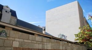 Muzeum Shoah (Paryż, październik 2010; fot.L. Jodliński)