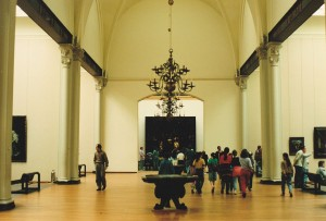 Straż nocna, Rembrandt van Rijn (fot.analogowa; Leszek Jodlinski, 1991)