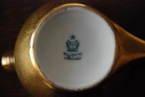 Tułowice (Tillowitz) porcelanowy dzbanek z końca lat 20-tych XX wieku