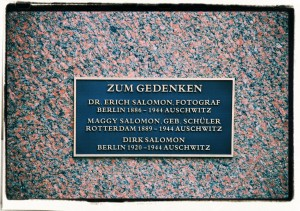 Tablica pamiątkowa na grobie rodziny Salomon (Berlin, Penzlauer Berg)