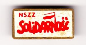 Znaczek Solidarności (z1980r.)