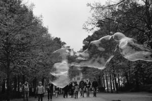 Berlin soap bubble / Bańka mydlana, Berlin, Tiergarten)