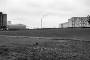 Smoke / Dym (area of Hauptbahnhof, Berlin)