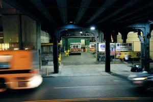 To co podHigh Line (stacja pogotowia ratunkowego przy 10.ulicy)