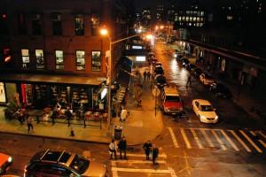 """High Line - awdole typowy """"American corner""""..."""