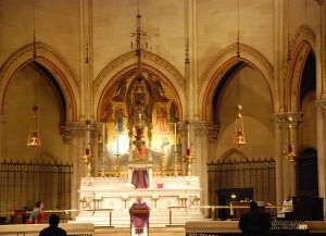 Dwóch wiernych / Two believers (NYC, okolice 7th Ave.)