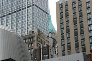 New York shapes / Kształty Nowego Jorku (Broadway, NY)