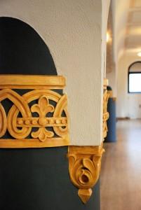 Pattern (2) / Wzór (2) (Wrocław/Breslau; wnętrze synagogi)