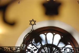 bez tytułu (wnętrze synagogi podBiałym Bocianem, Wrocław)
