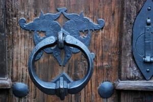 Motyw / Motif (Wrocław) [Brama kościoła NMP]