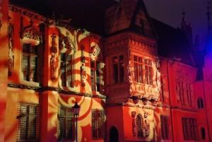 Mapping the past (Wrocław) [Wrocławski ratusz w ESK-owej odsłonie]