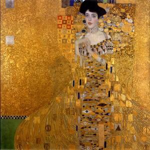 Portret Adeli Bloch-Bauer, Złota Adela, (Gustav Klimt, 1907: Neue Galerie, NYC)