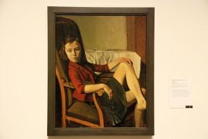 Thérèse, Balthus, 1938 (olej napłótnie, MET, reproddukcja L. Jodliński)